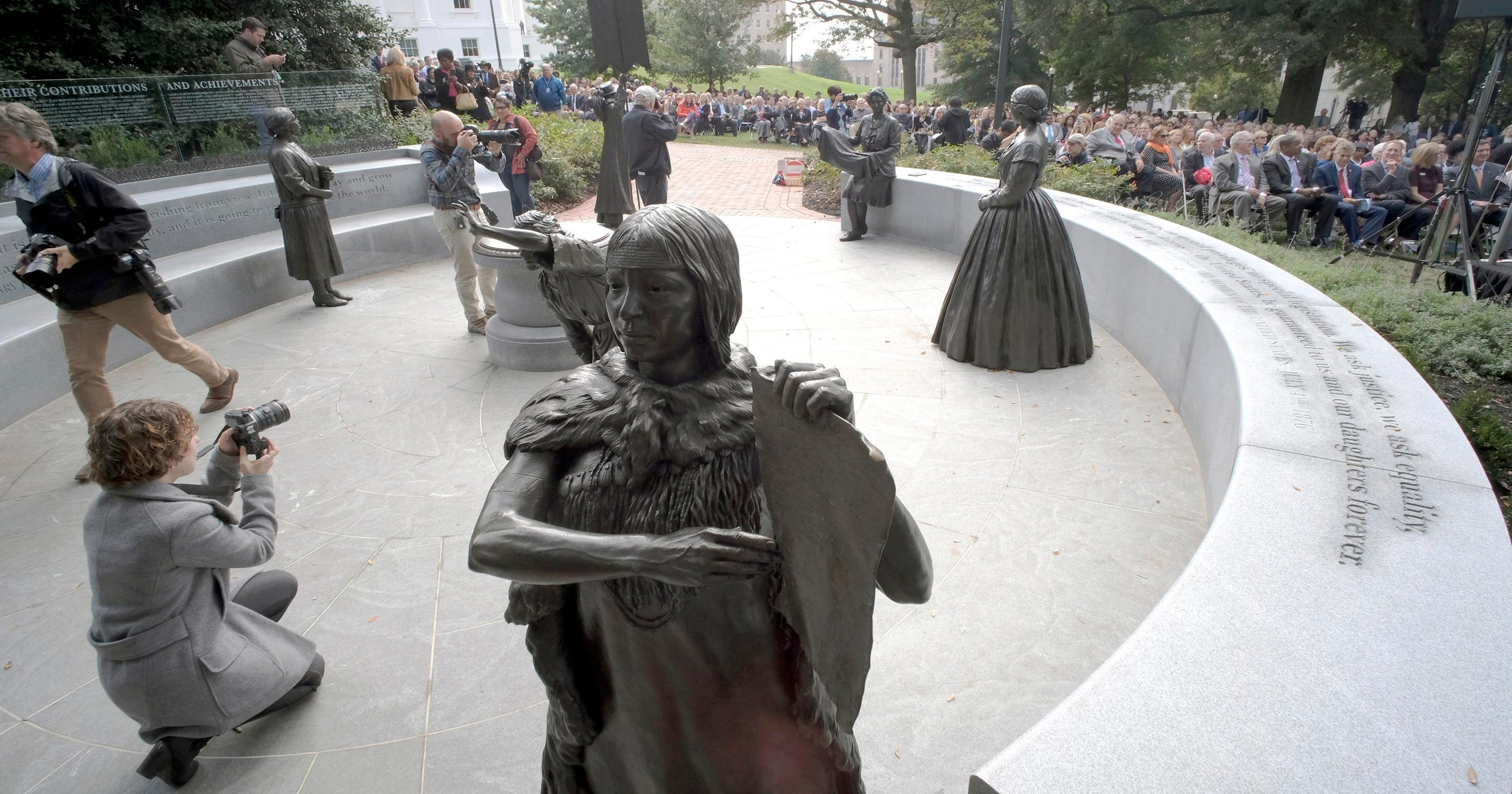 Monument to women, playground scare, Dali theft: News from around our 50 states