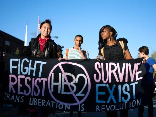 The Imaginary Predator In America S Transgender Bathroom War