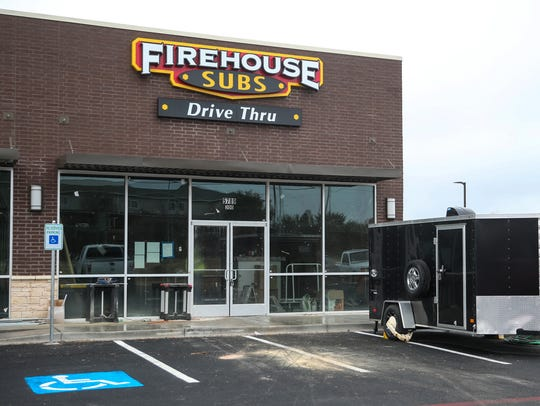Firehouse Subs is opening at 5789 Sherwood Way in San