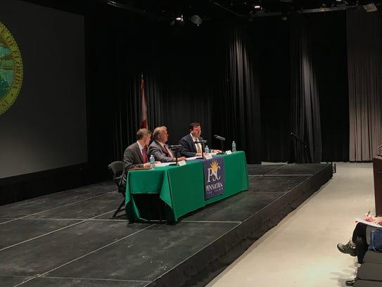 The Escambia County legislative delegation holds a