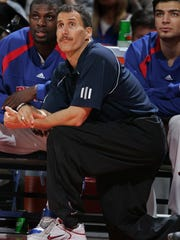 Detroit Pistons strength and conditioning coach Arnie