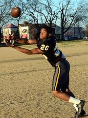 Hendersonville High junior halfback/defensive back