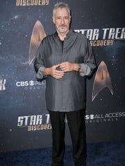 "John de Lancie arrives at the ""Star Trek: Discovery"""