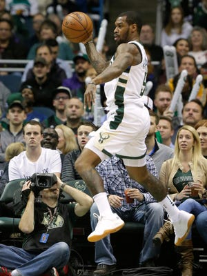 Guard Sean Kilpatrick has played in five games with the Bucks this season.