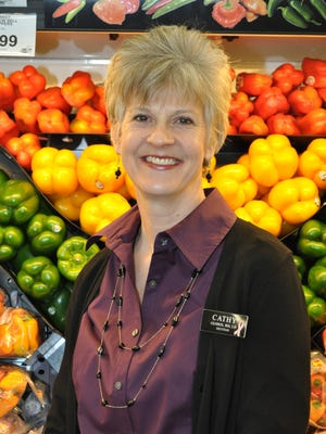 Cathy Gehris is a Hy-Vee dietitian at the eastside store on First Avenue (338-9758) in Iowa City.
