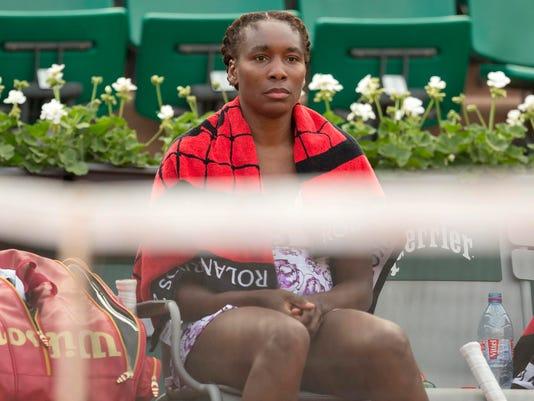 Tennis: French Open V. Williams vs Stephens