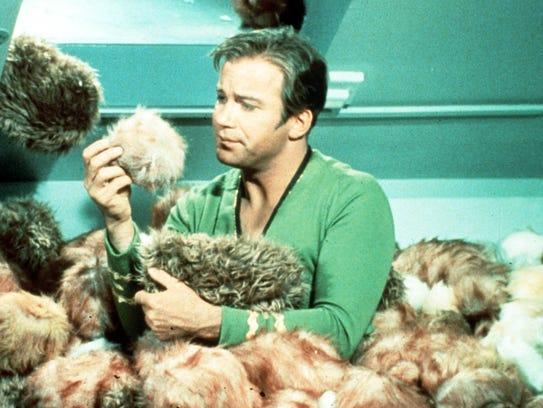 "William Shatner starred as Capt. James T. Kirk in ""Star"