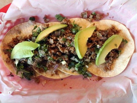 Sirloin toreado is made with toreado salsa, avocado