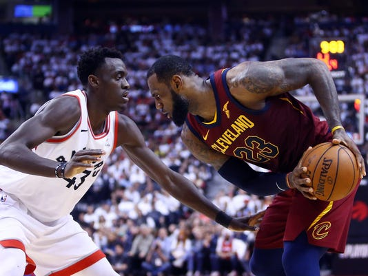Cleveland Cavaliers v Toronto Raptors - Game Two