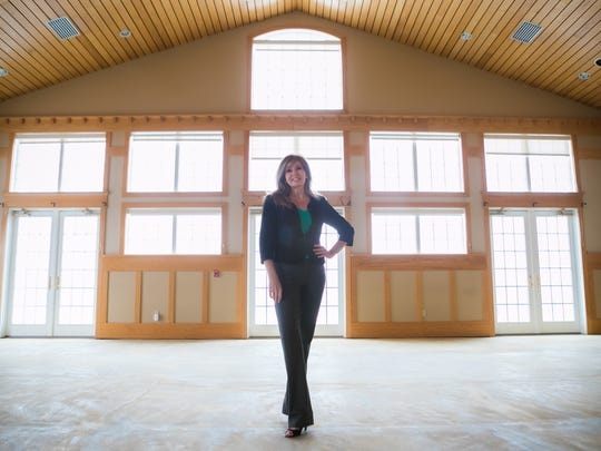 Valerie Gooding is breathing new life into the banquet and ballroom business at Middletown's Frog Hollow Golf Course.
