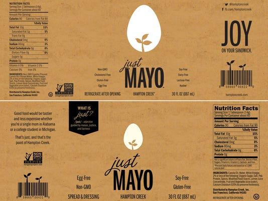Just Mayo FDA