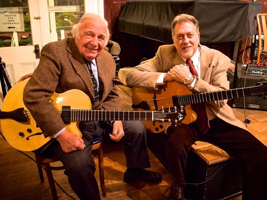 BuckyPizzarelli and Ed Laub returned to the Watchung Arts Center for a concert earlier this month