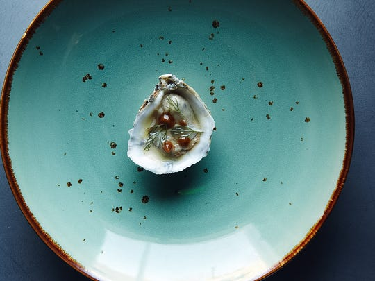 """Oysters are on the """"taste"""" menu at Local Provisions."""