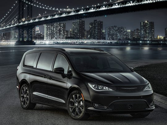 The 2018 Chrysler Pacifica.