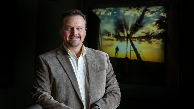 The Seam, CEO Mark Pryor, poses for a portrait at the cotton company's offices Thursday morning. The Seam, founded by leading global agribusiness companies, began operating the world's first completely online, neutral exchanges for cotton trading in December 2000 in Memphis.