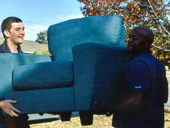 San Angelo Beta Sigma Phi and Trend Furniture teamed