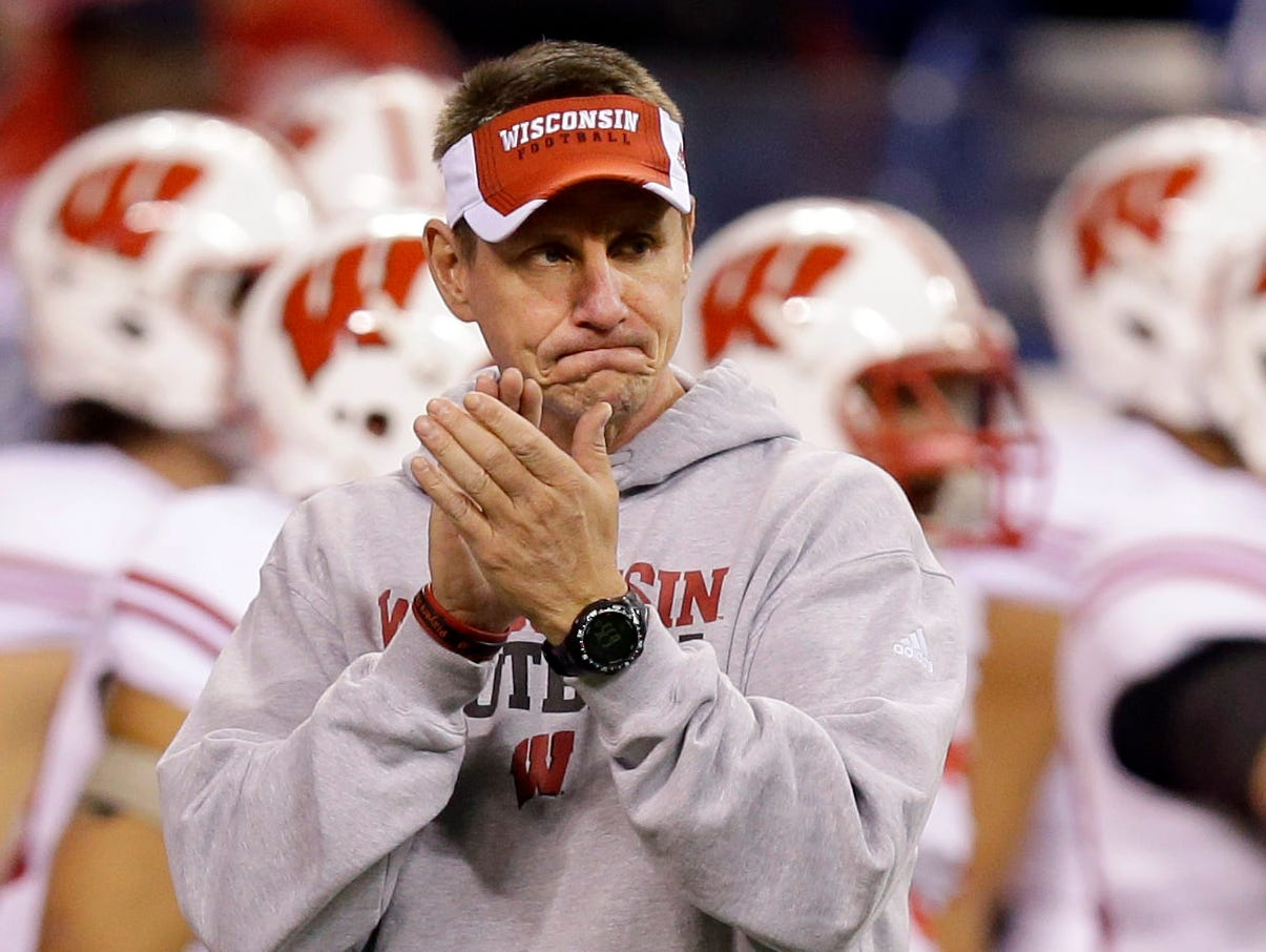 Gary Andersen has left Wisconsin to become head coach at Oregon State.
