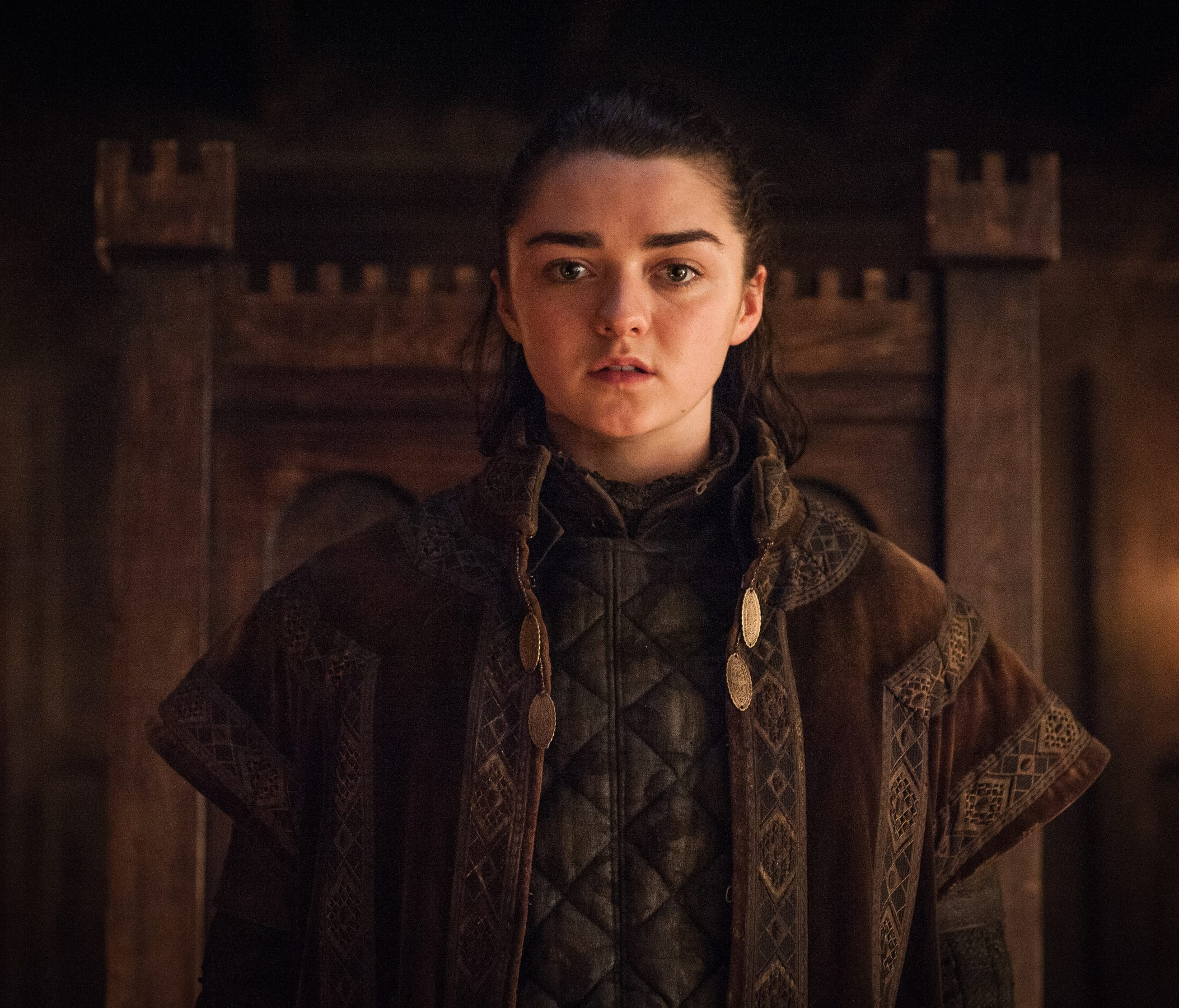 Arya (Maisie Williams) on 'Game of Thrones.'