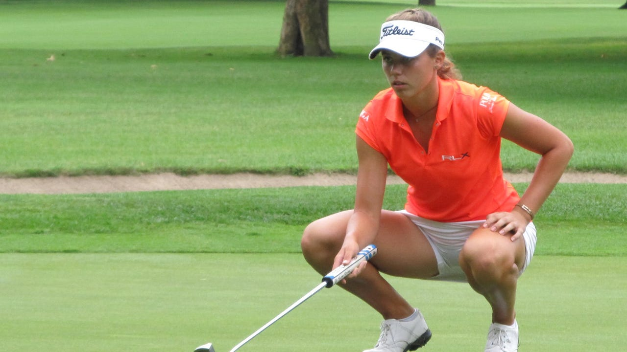 Julia Dean of Brighton advanced to the quarterfinals of the Michigan Women's Amateur Championship with a victory over Danielle Staskowski of Clarkston.