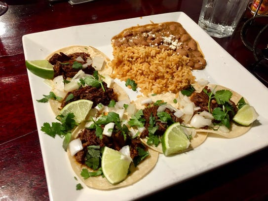Street tacos are on the menu at Cicada.