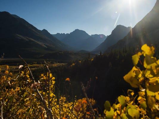 Fall in Glacier National Park