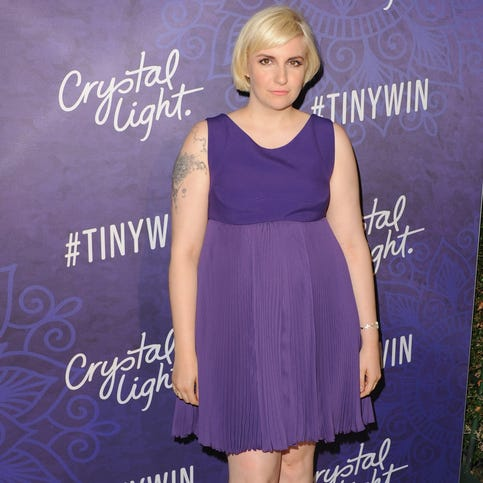 Lena Dunham at the Variety And Women In Film Annual Pre-Emmy Celebration on Aug. 23.