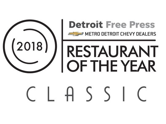 Restaurant of the Year logo