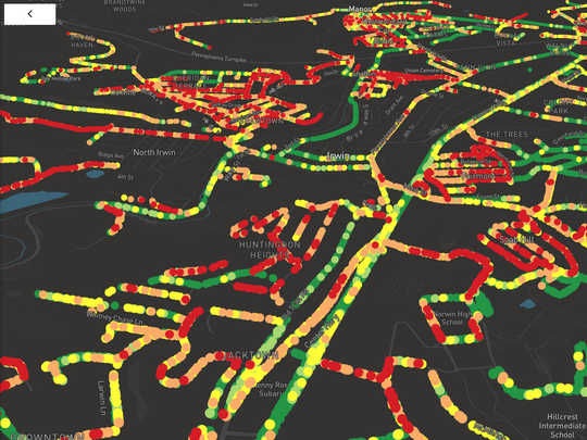 RoadBotics creates maps that can pinpoint the streets