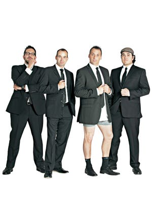 "TruTV's ""Impractical Jokers"" will be at the Pavilion on Sept. 30."