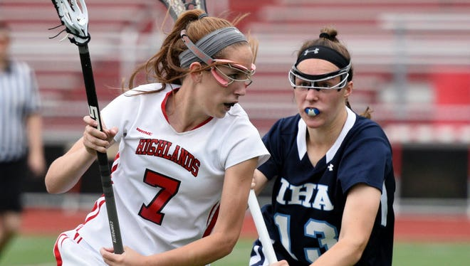 Julia Bradbury of Northern Highlands (left) is looking to become one of the top scorers in Bergen County again this season.