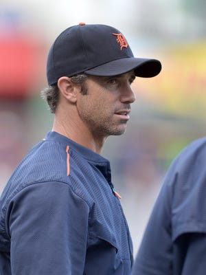Aug 12, 2015; Detroit Tigers manager Brad Ausmus.