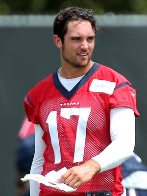 New Texans QB Brock Osweiler joins an offense now flush with weapons.