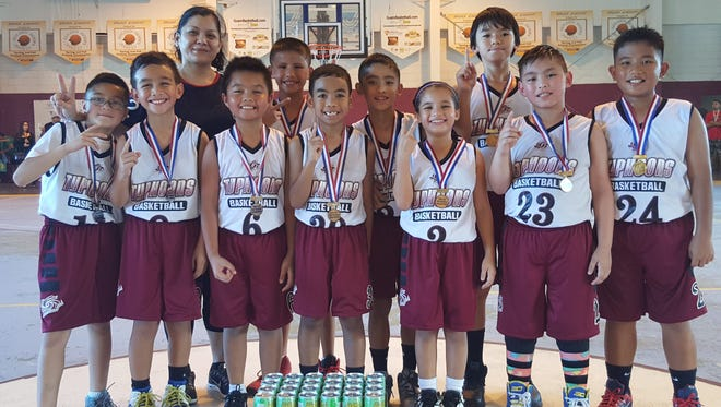 The Tamuning Typhoons Basketball Club is celebrating its 12th year. Club registration and practice for new and returning members starts April 8 at Tamuning Gym.