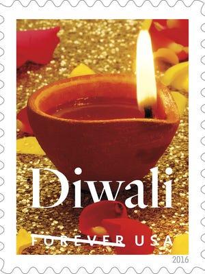 Diwali Forever Stamp