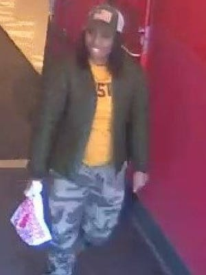 Police say this woman is the suspect in a wallet theft at Panera Bread in Mount Laurel