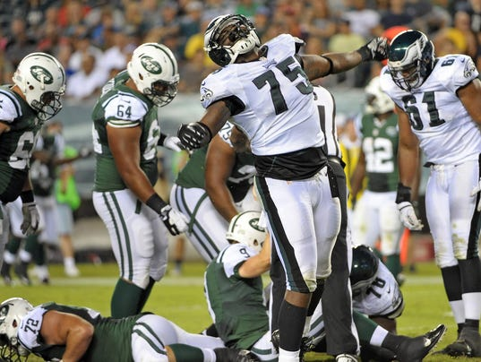 ... New York Jets at Lincoln Financial Field in this 2012 file photo