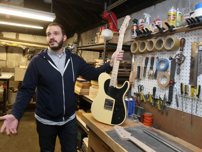 Henry D'Allacco talks about building vintage guitars