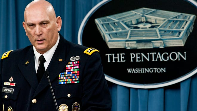 Army Chief of Staff Gen. Ray Odierno said Sept. 23, 2014, the Army plans to send a division headquarters to Iraq to help lead efforts there in battling the Islamic State.