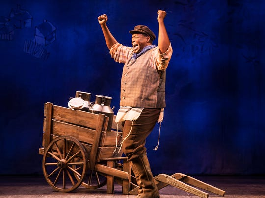 "Chuck Cooper as Tevye in the ""Fiddler on the Roof"" scene in ""Prince of Broadway."""