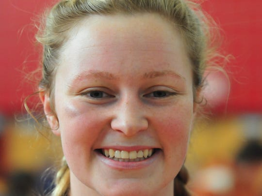 Danika Mann, Tri-Village girls basketball