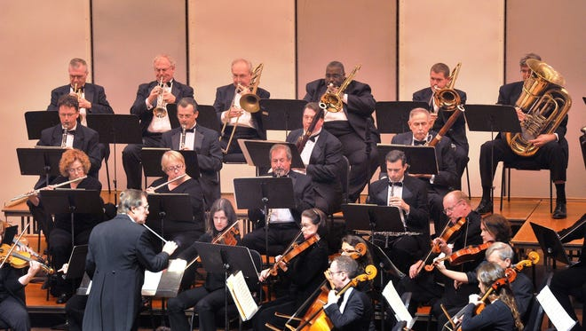 The Wichita Falls Symphony Orchestra performs at Memorial Auditorium in this file photograph.