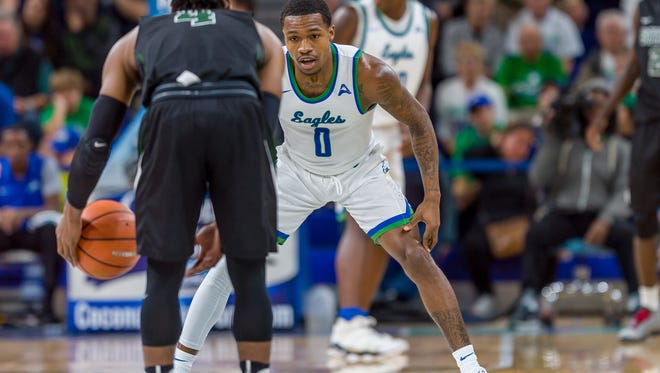 During Saturday's 90-52 home blitzing of Stetson in the ASUN-opener, senior guard Brandon Goodwin and his FGCU teammates looked like the defending champions and heavy favorites. The Eagles look to follow that up at home against USC Upstate on Thursday night.
