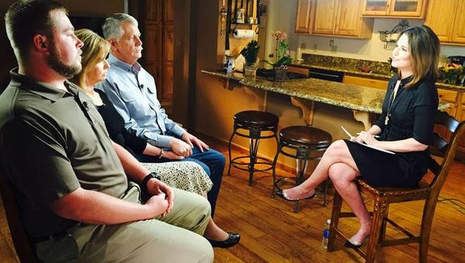 Carl and Marsha Mueller, Kayla's parents, and Eric Muller, her brother sit down for an exclusive NBC interview.