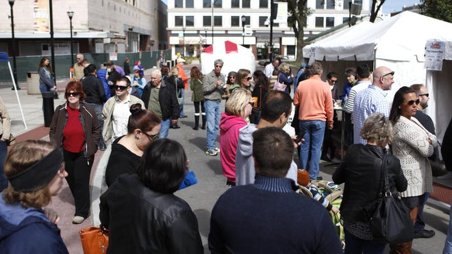 Taste of Springfield is expected to draw a large crowd to Park Central Square on Saturday.