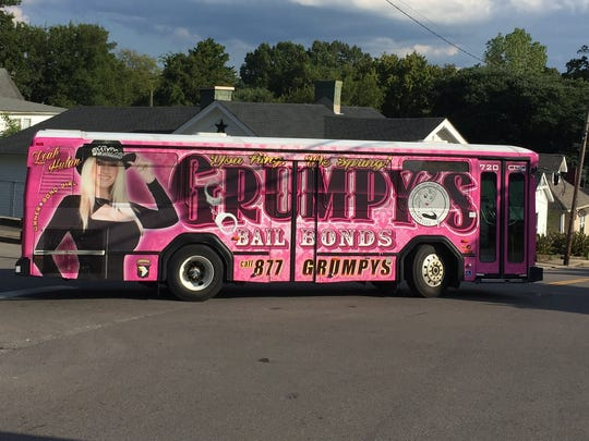 """Grumpy's makes the most of its """"Bond Girl"""" on this"""