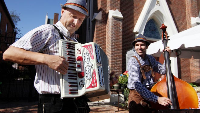 The Nashville Oktoberfest in Germantown is one of the most popular free fall festivals.