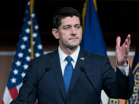 Ryan speaks about tax deal, Farenhold