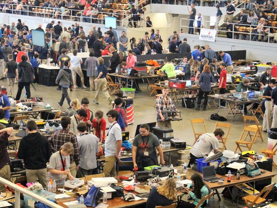 The National Robotics Challenge, which started on Thursday