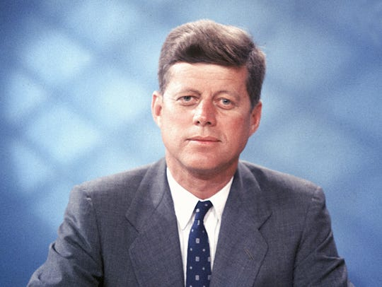 John F. Kennedy is shown in this undated photo.
