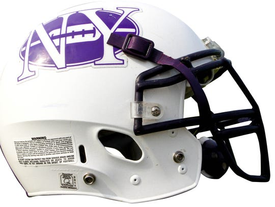 Northern York football helmet.